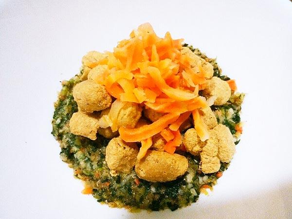 犬猫の肝臓病におすすめのレシピ「健康一番+マグロ+にんじん」4