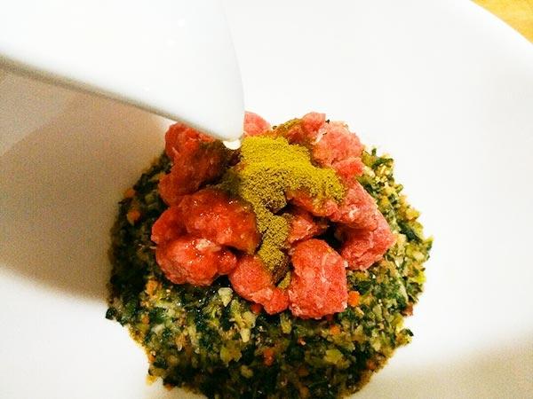 健康一番 × 鹿肉 × 植物エキス(アレルギー対応レシピ)の作り方3