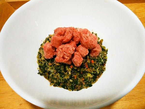 健康一番 × 馬肉 × ケイズマイスター(アレルギー対応レシピ)の作り方3