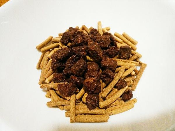 長寿一番 × 鹿ビッツ × 葛(アレルギー対応レシピ)の作り方2