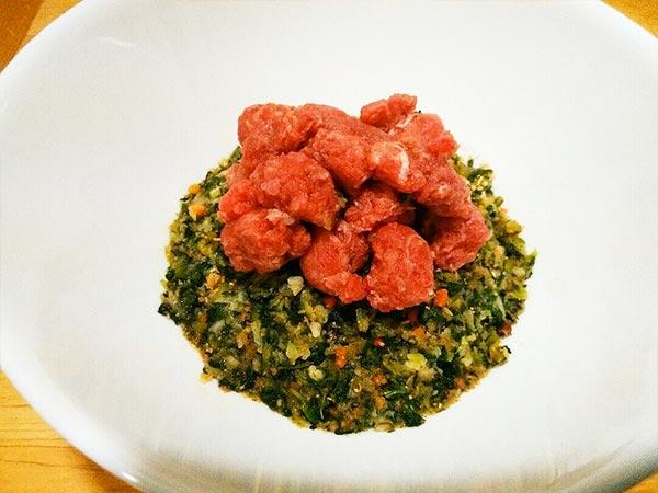 健康一番 × 鹿肉 × 植物エキス(アレルギー対応レシピ)の作り方2