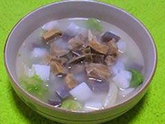 犬猫の牛肉を使ったレシピ「お腹にやさしいスープ」