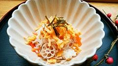 犬猫の栄養のめぐみを使ったレシピ「ちらし寿司」