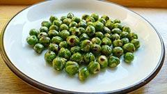 犬猫のおやつレシピ「えんどう豆のおやつ」