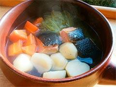 犬猫の手作りご飯レシピ「鮭のポトフ」
