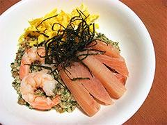 犬猫の鯛を使ったレシピ「健康一番ちらし」