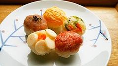犬猫のブリを使ったレシピ「手毬寿司」