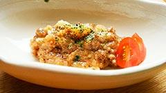 犬猫の牛肉を使ったレシピ「ビーフチーズリゾット」