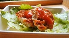 犬猫におすすめの鶏肉を使ったレシピ「鶏ともやしのヘルシーバーグ」