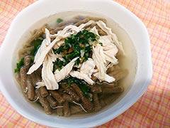鶏胸肉レシピ「長寿一番+お肉+野菜のご飯」