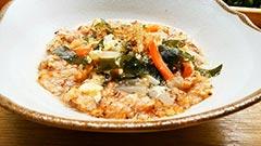 犬猫のケイズマイスターを使ったレシピ「プライムライスの中華スープかけ」