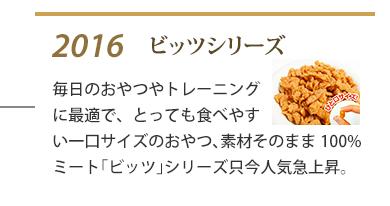 2016年 ビッツシリーズ発売