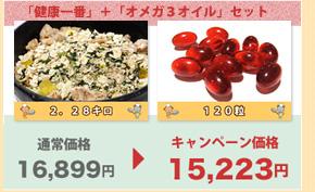 健康一番2280g+オメガ3オイル120粒